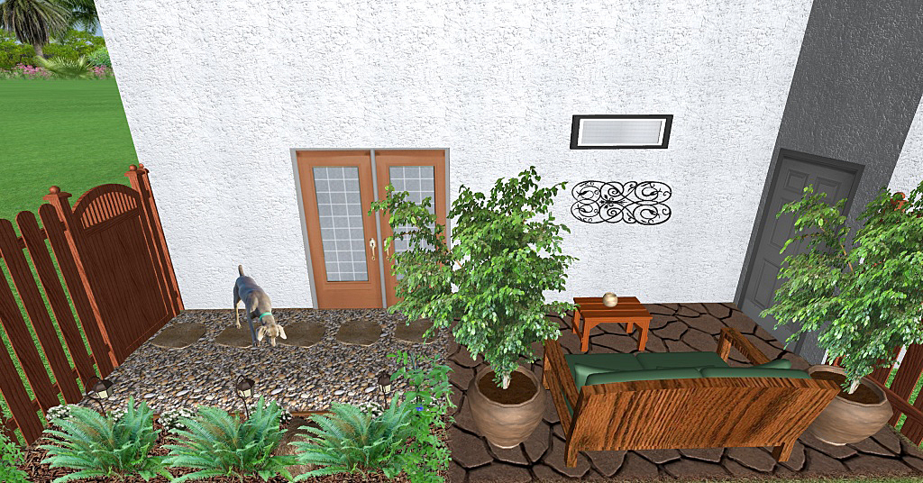 townhouse patio garden room - Small Townhouse Patio Ideas