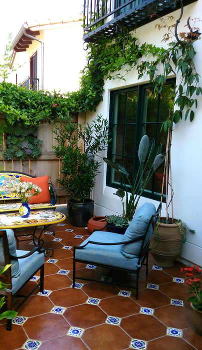 townhouse patio garden room houzz interior design ideas - Small Townhouse Patio Ideas